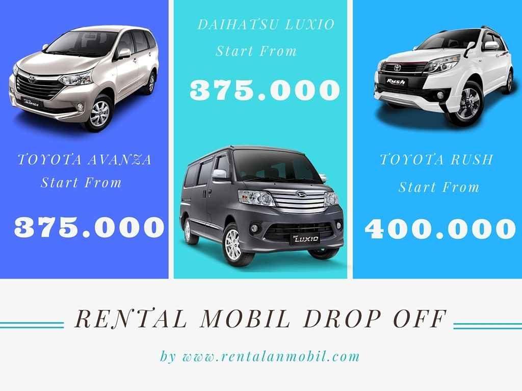 rental mobil drop off